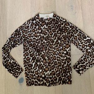 CrewCuts size 10 Cheetah Cardigan